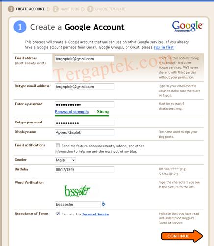 Cara Daftar Domain Gratis Buat Web Langkah