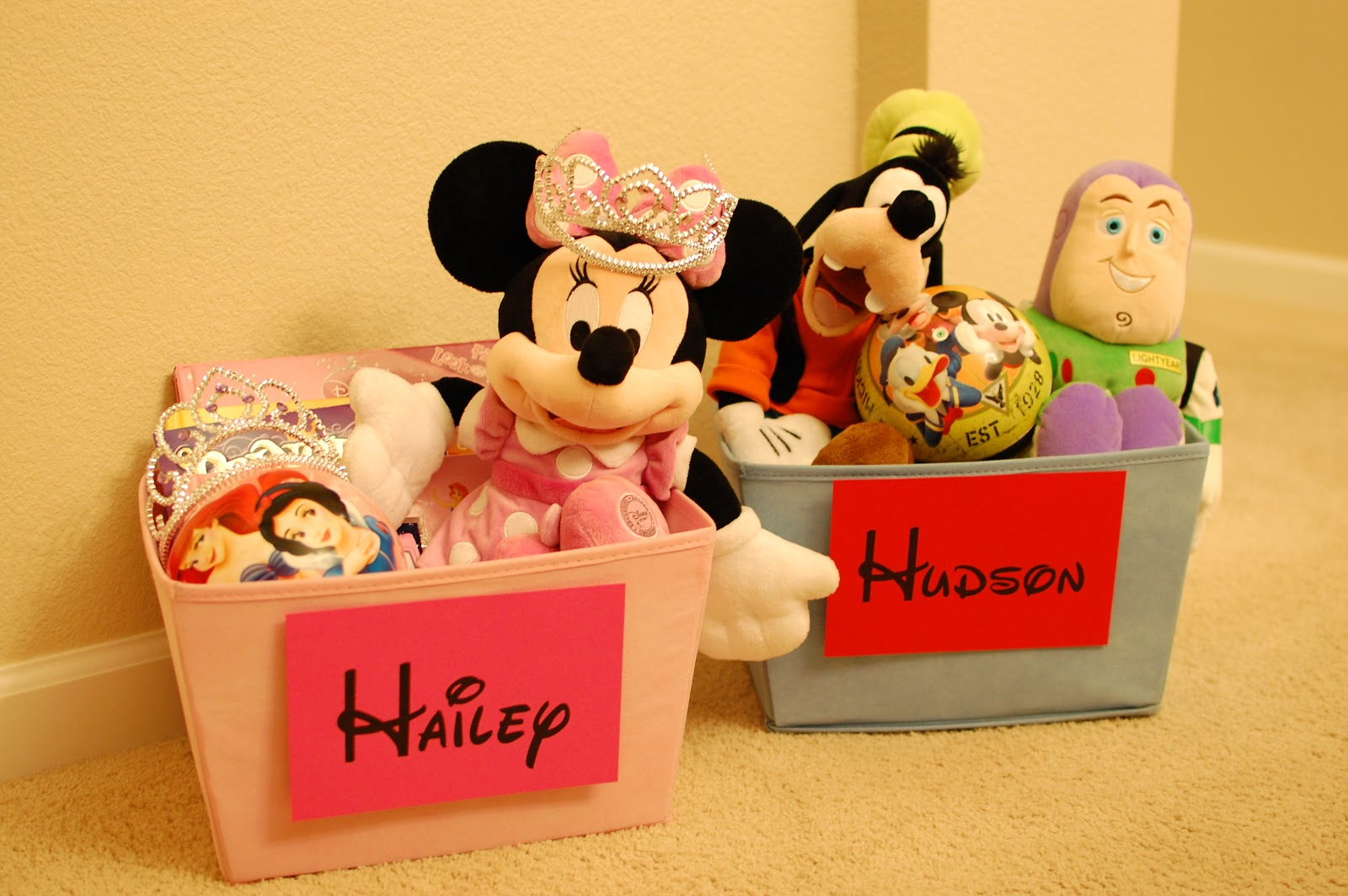 Pinkie for Pink: Disney Road Trip Gift Baskets