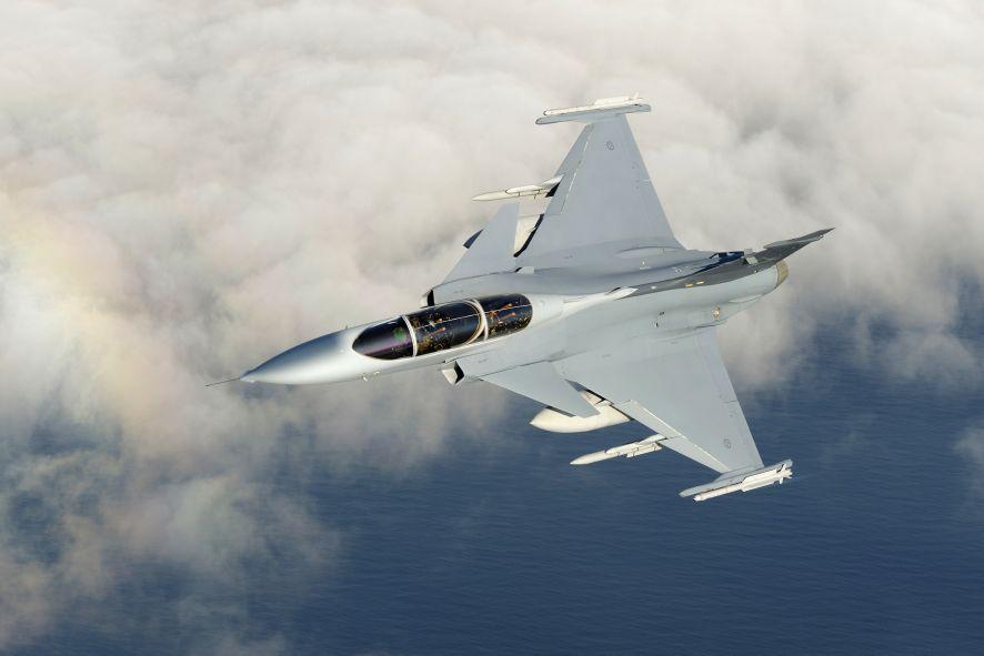 cool jet airlines gripen ng fighter jet plane
