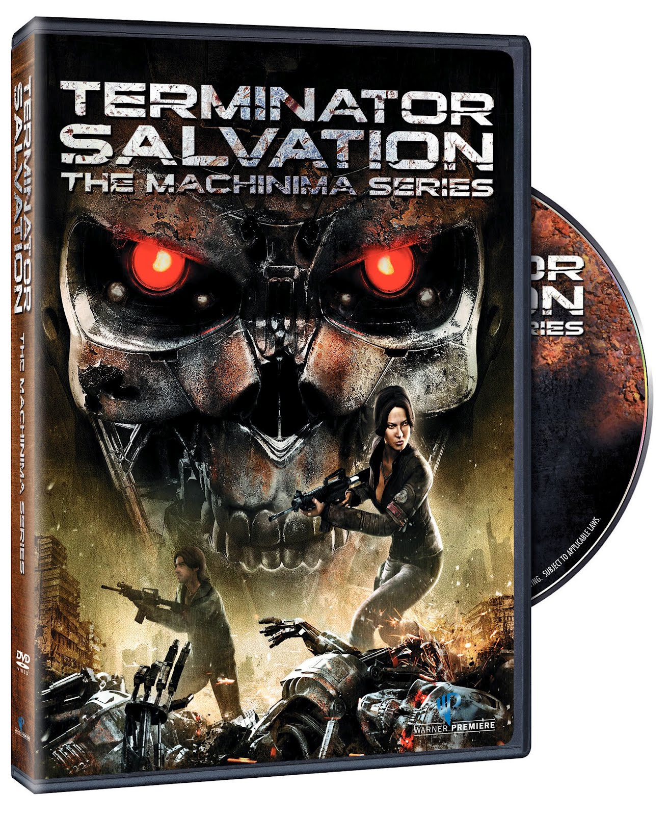 Terminator Salvation DVD Case Box