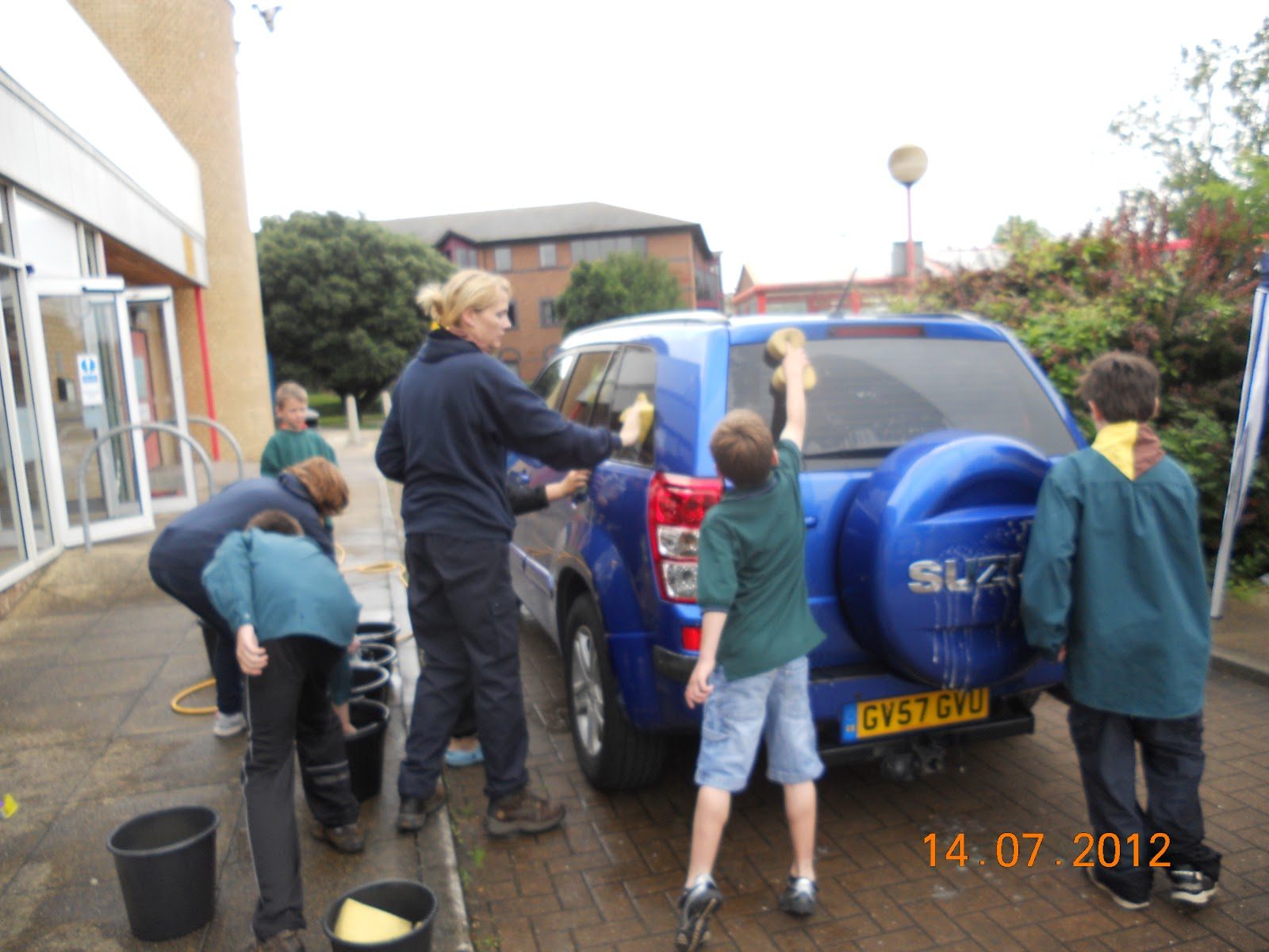 1st Llanishen Scouts Charity Car Wash