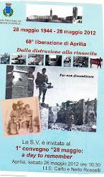 Ricordare la Battaglia di Aprilia