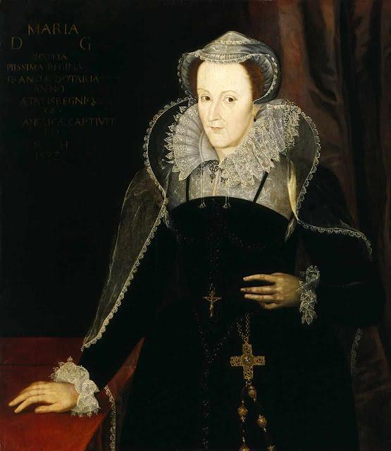 Maria Stuart que chegou a ser rainha de três reinos