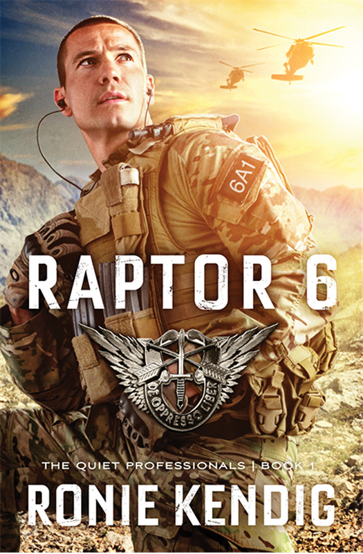 book review of Raptor 6 by Ronie Kendig (Barbour Books) by papertapepins
