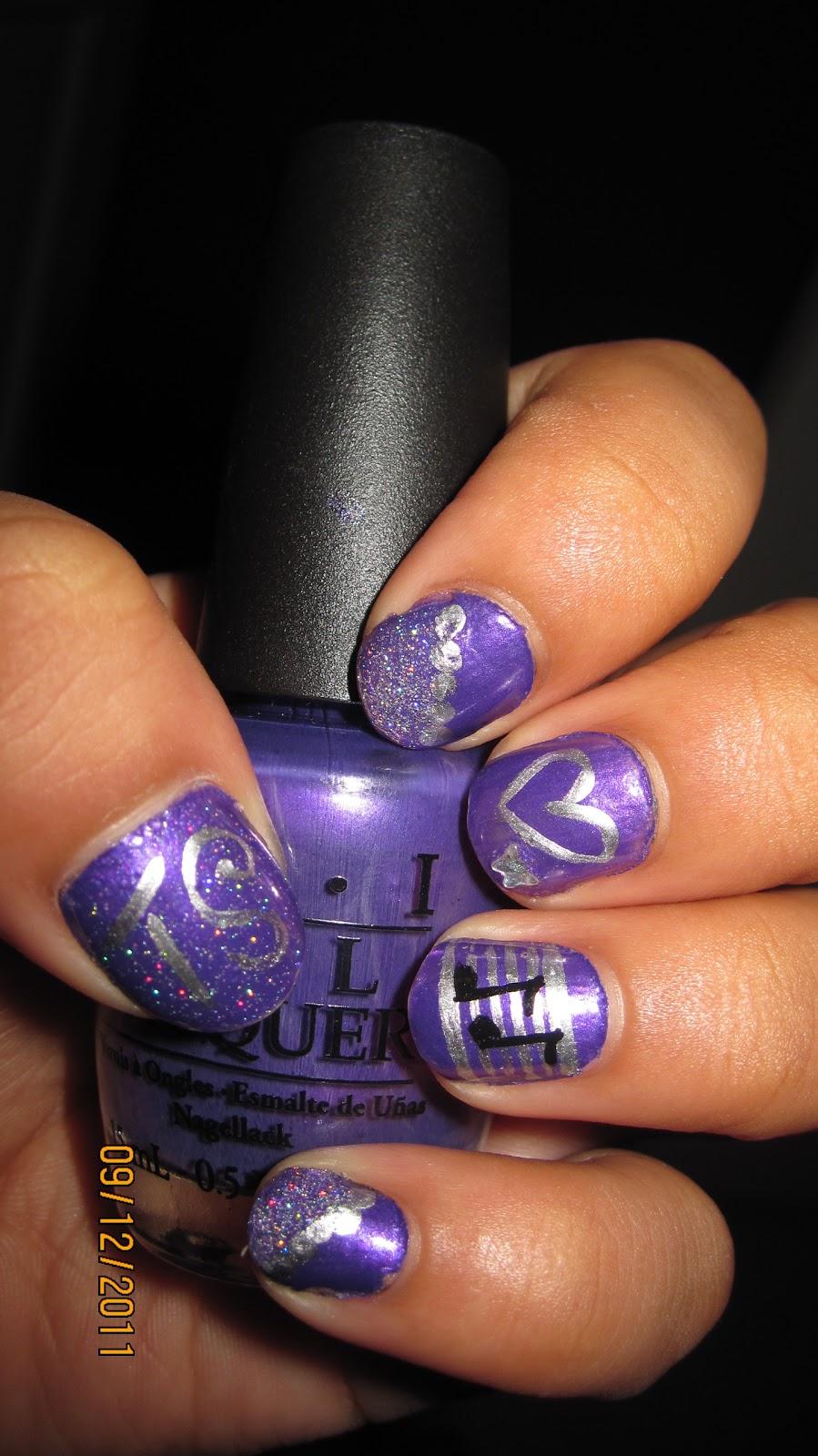 The Enchanting Music notes nail art designs Images