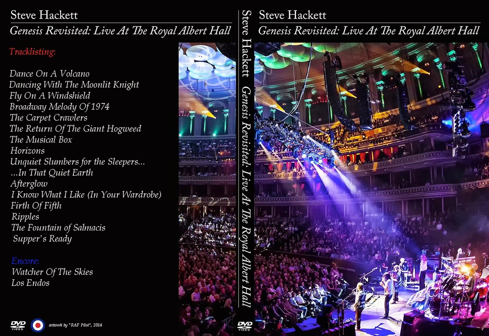 Music World 5000: Steve Hackett - Genesis Revisited: Live ...