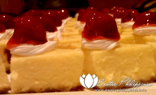 Jpark Island Resort and Waterpark Olive Restaurant Cheese Cake