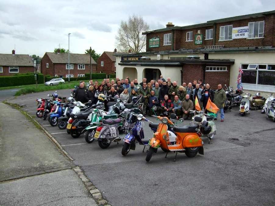Gemini scooter club Leeds