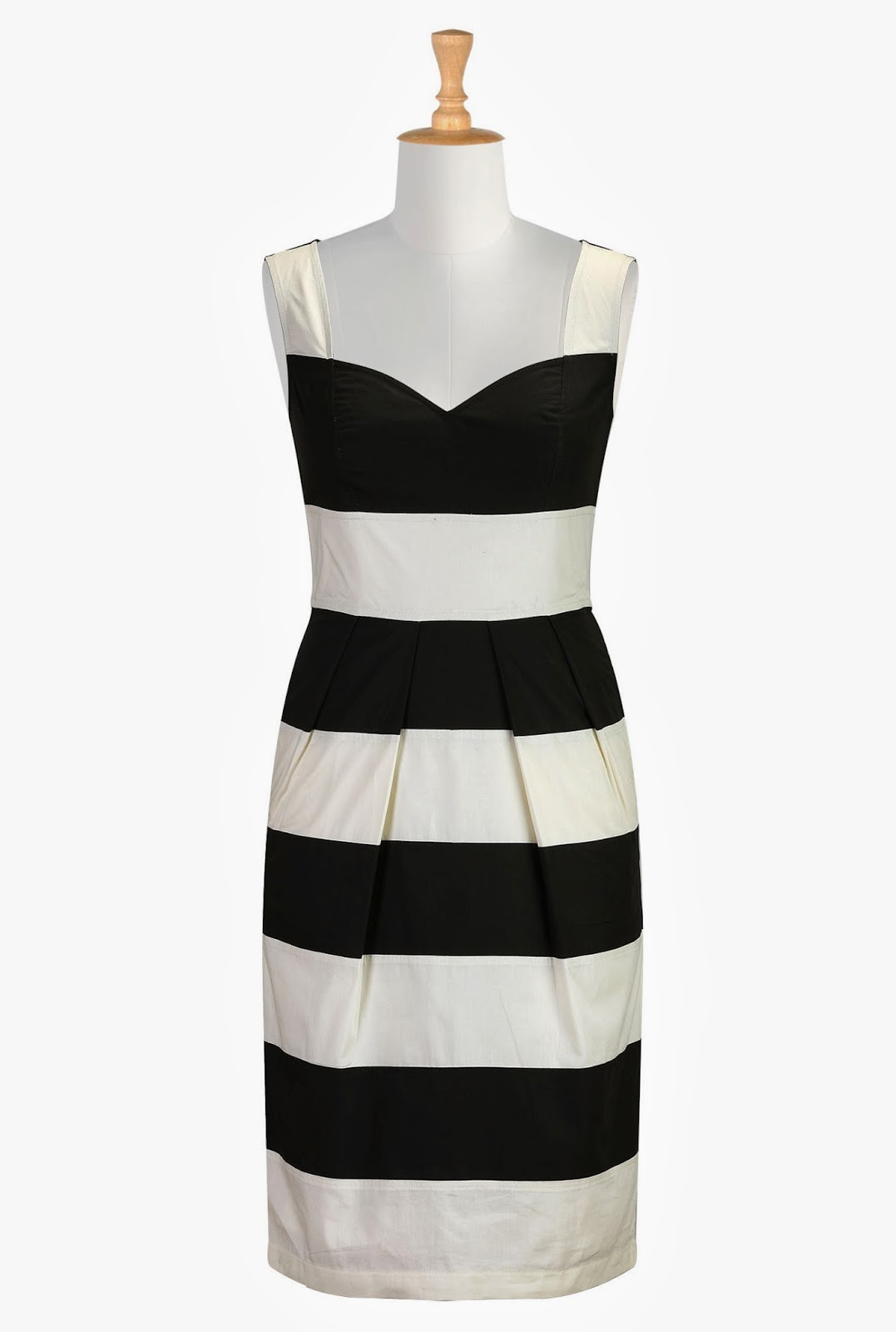 http://www.eshakti.com/Product/CL0030909/Contrast-banded-stripe-poplin-dress