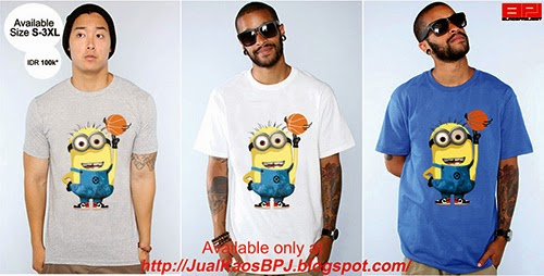 kaos basket, minion