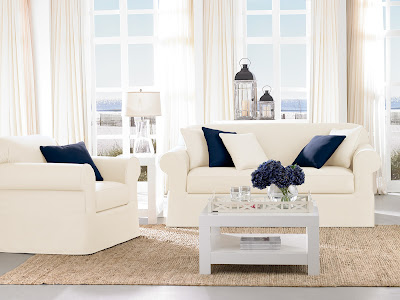 Sure Fit Slipcovers: Bring A Beach / Cottage Coastal Style Home!