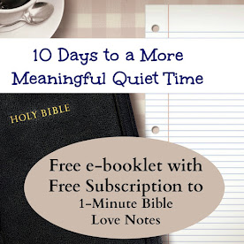 Would you like to receive a 1-minute devotion in your email each weekday? Click image below!