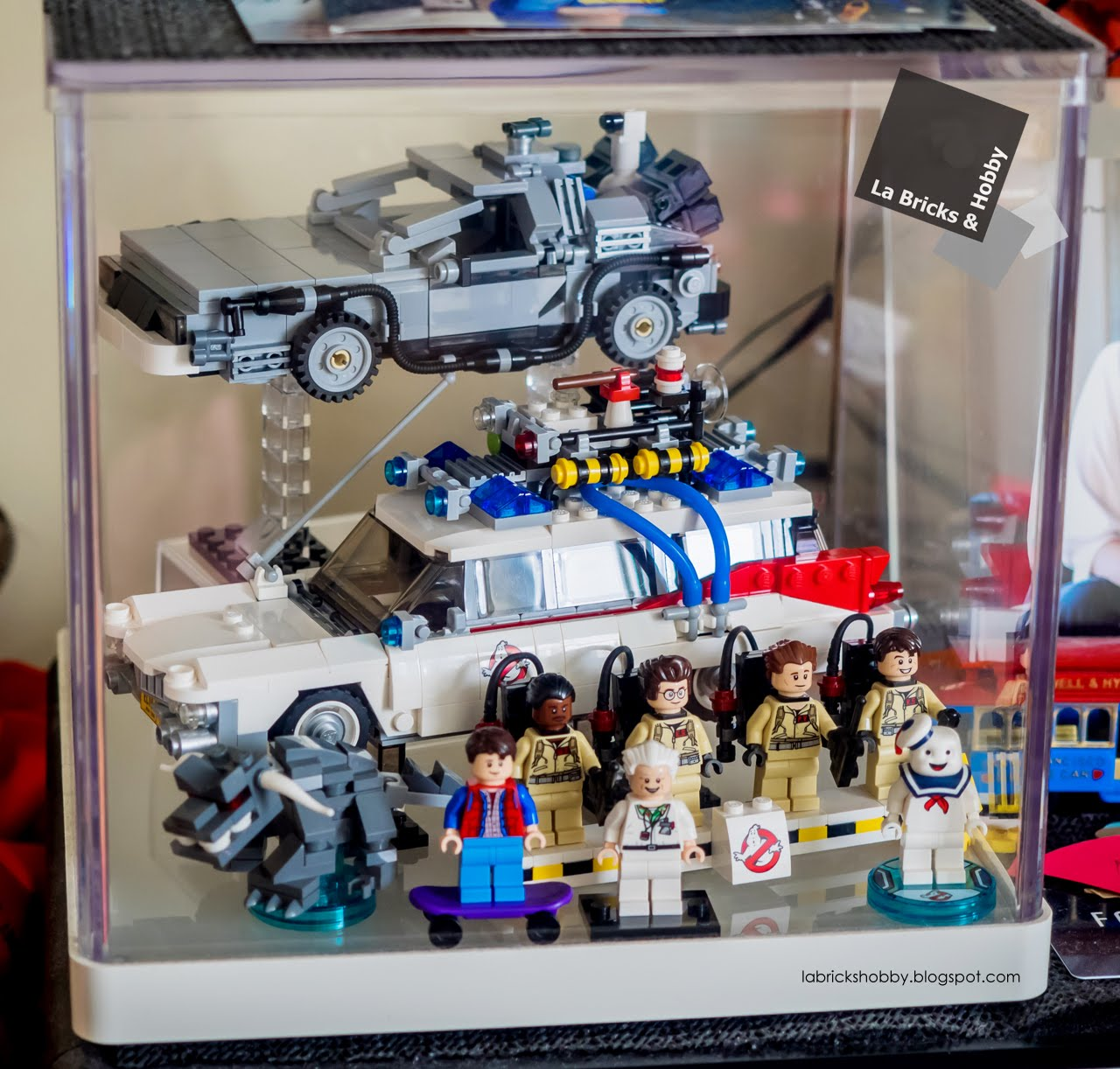 La Bricks Amp Hobby Lego The Delorean Time Machine