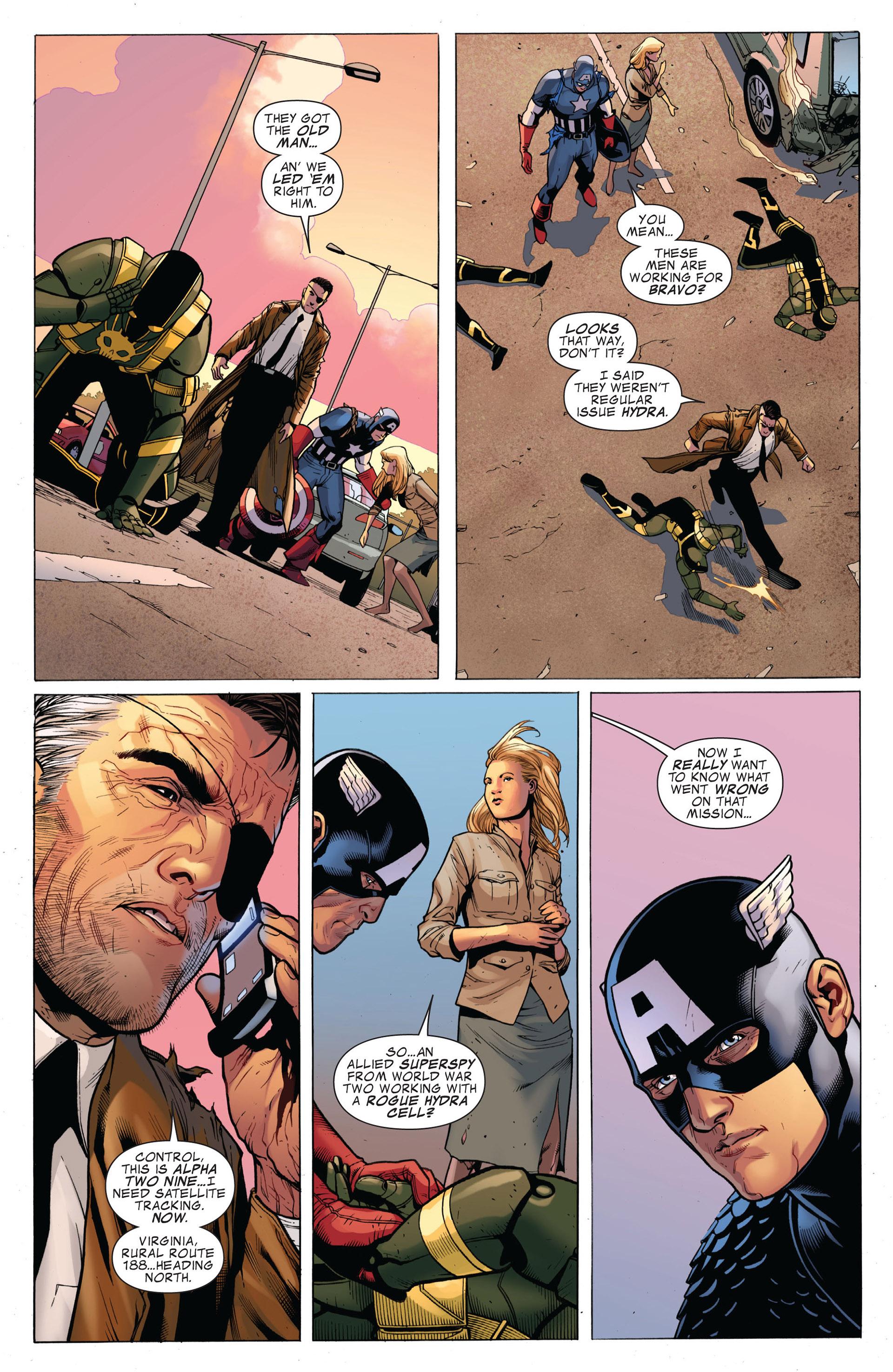 Captain America (2011) Issue #1 #1 - English 23