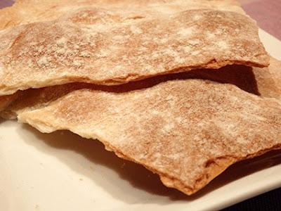 Panes o tortas crujientes tipo crackers