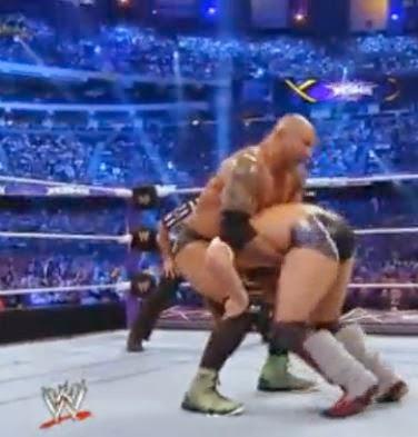 Batista Wearing Air Jordan XX8 Sneakers At Wrestlemania 30