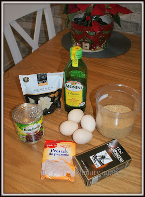 Ciasto fasolowe … przepis na babeczki