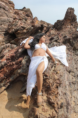 Rachana Mourya Hot Navel show Pictures