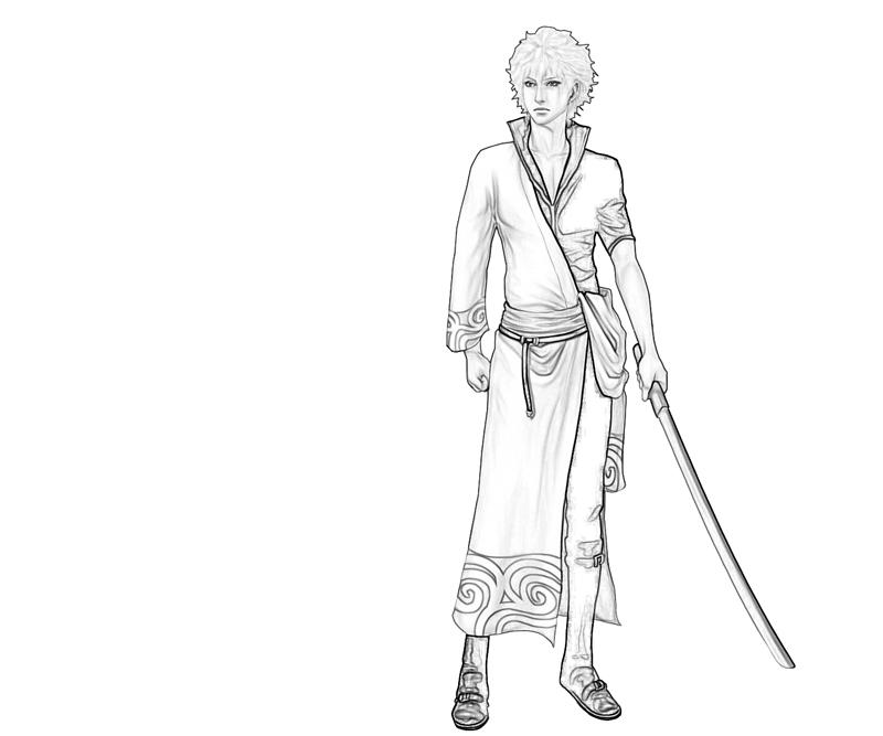 sakata-gintoki-weapon-coloring-pages