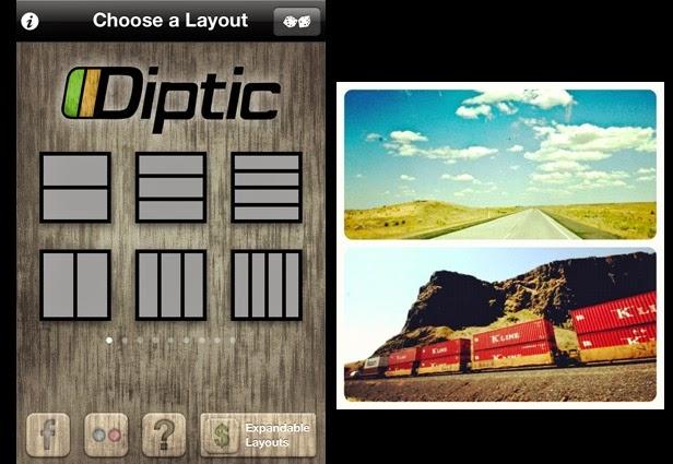 edit foto Diptic