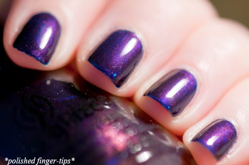 "China Glaze ""Let's Groove"" - artificial light"