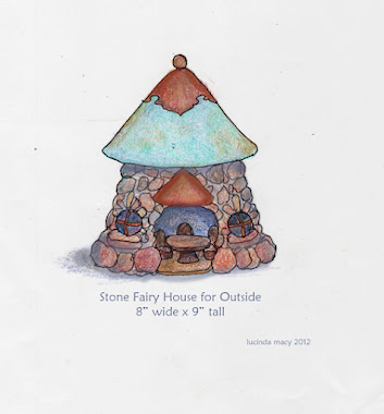 StoneFairy House for the garden