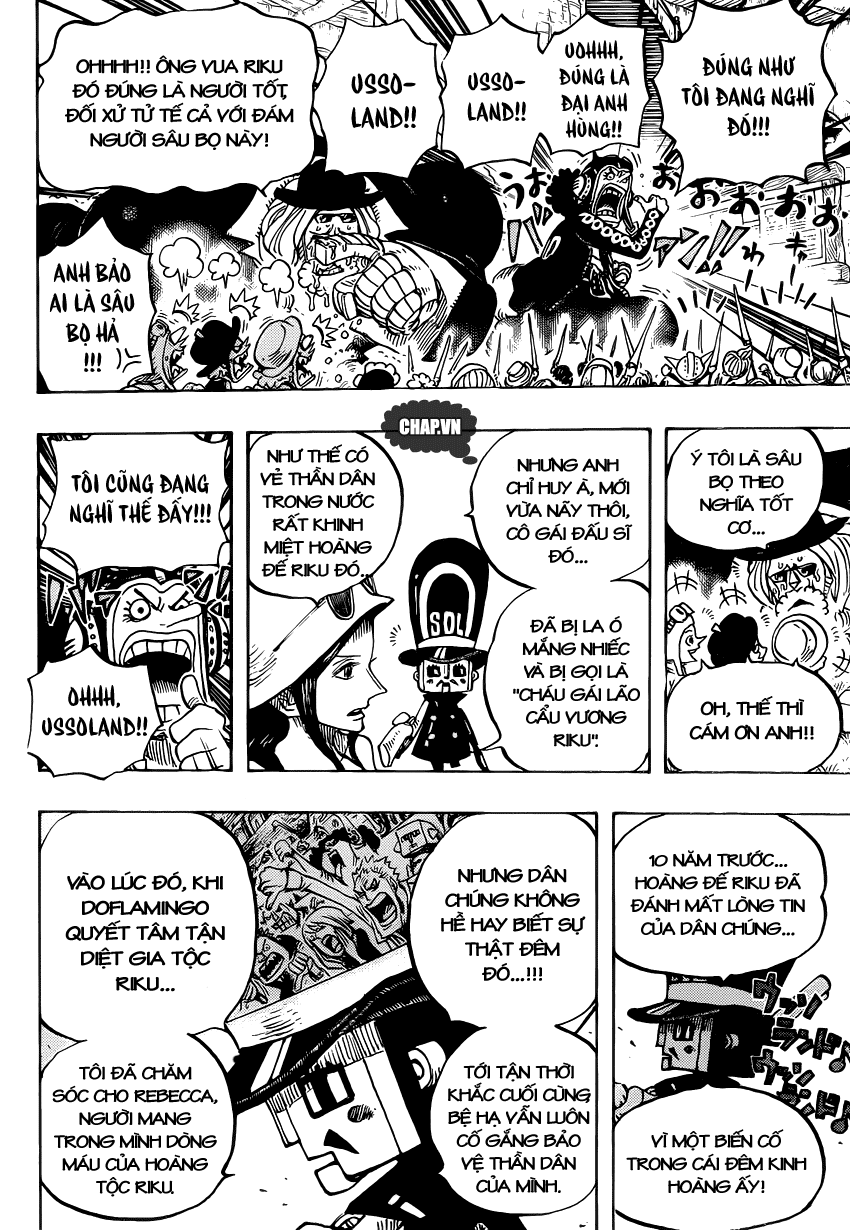 One Piece Chapter 726: Gia tộc Riku 018