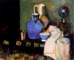 The blue jug-Henri Matisse