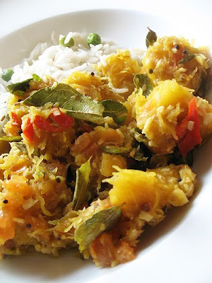 Indian squash curry