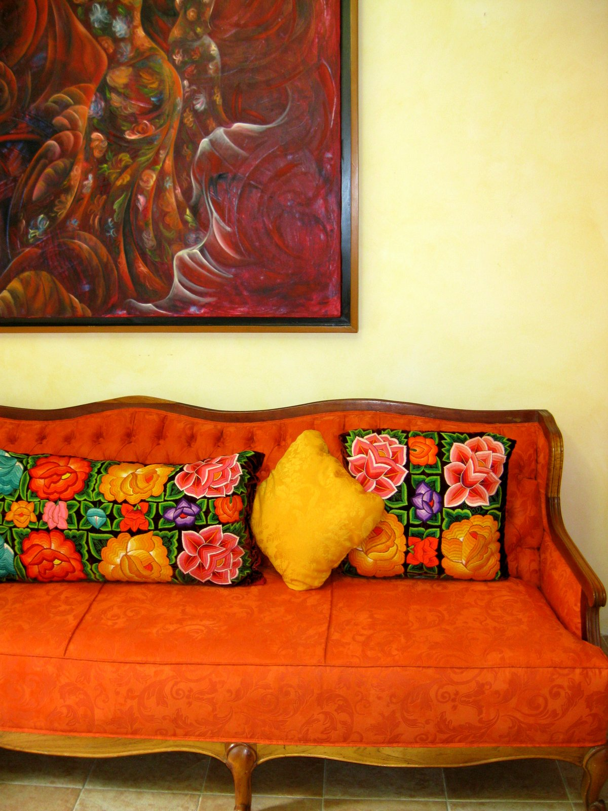 Mexico Vacation 2012: More Beautiful Mexican Color, Oaxacan Style