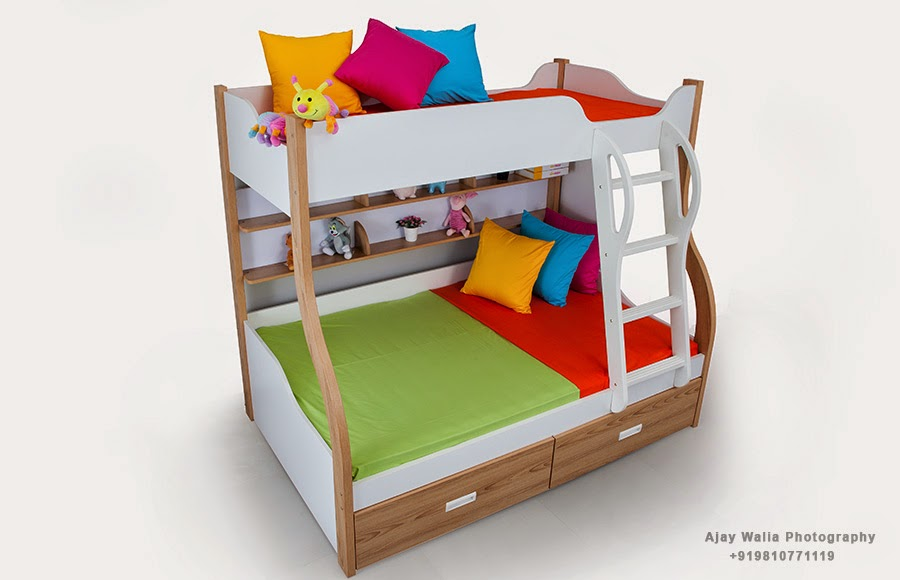 Kids' Bed Wooden Furniture