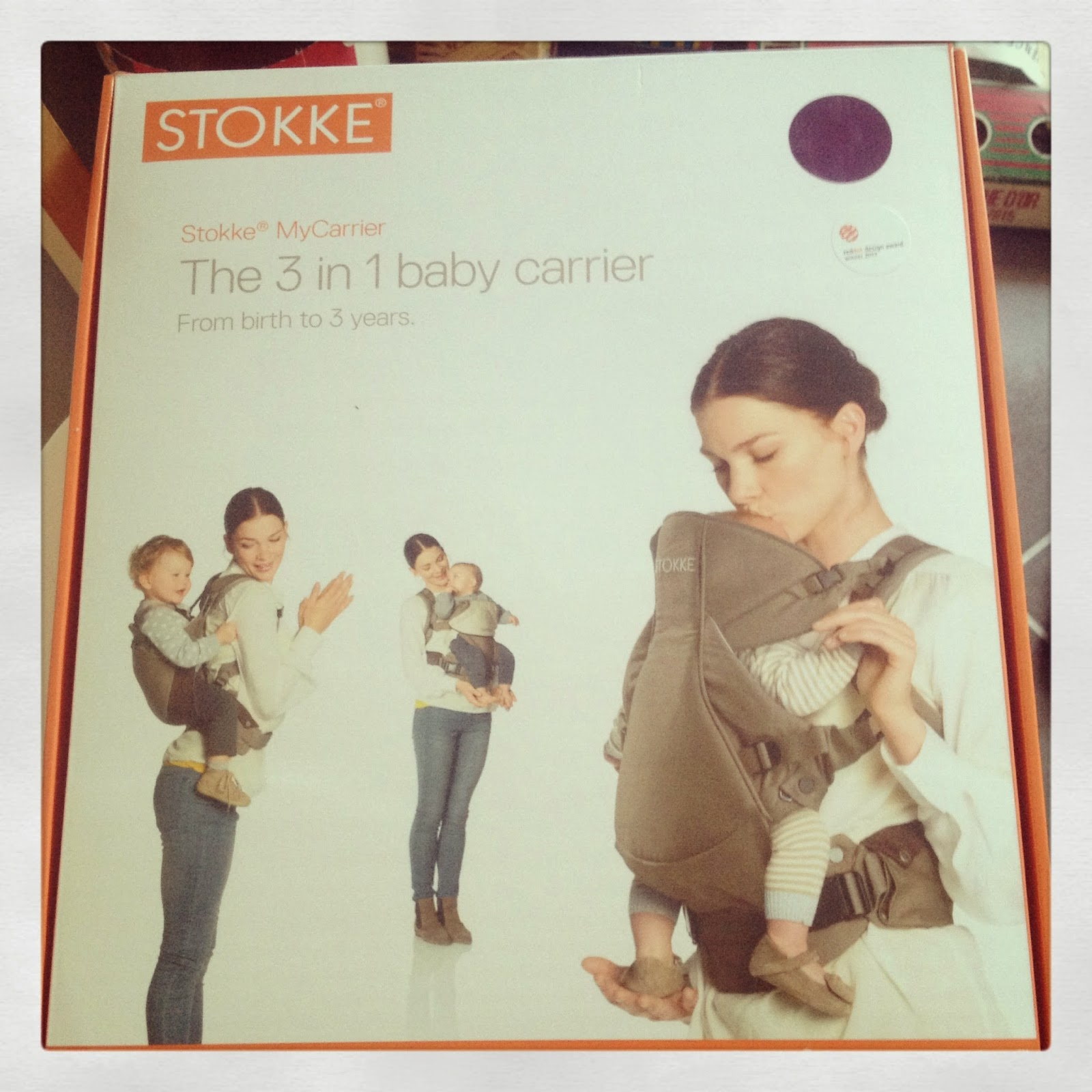 Porte-bébé Stokke® My Carrier 3 en 1  Test  45524d85d4f