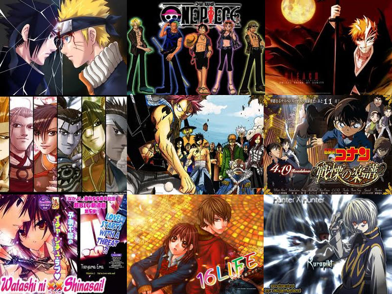DOWNLOAD KOMIK NARUTO, ONE PIECE, BLEACH, RULER OF THE LAND, FAIRY ...