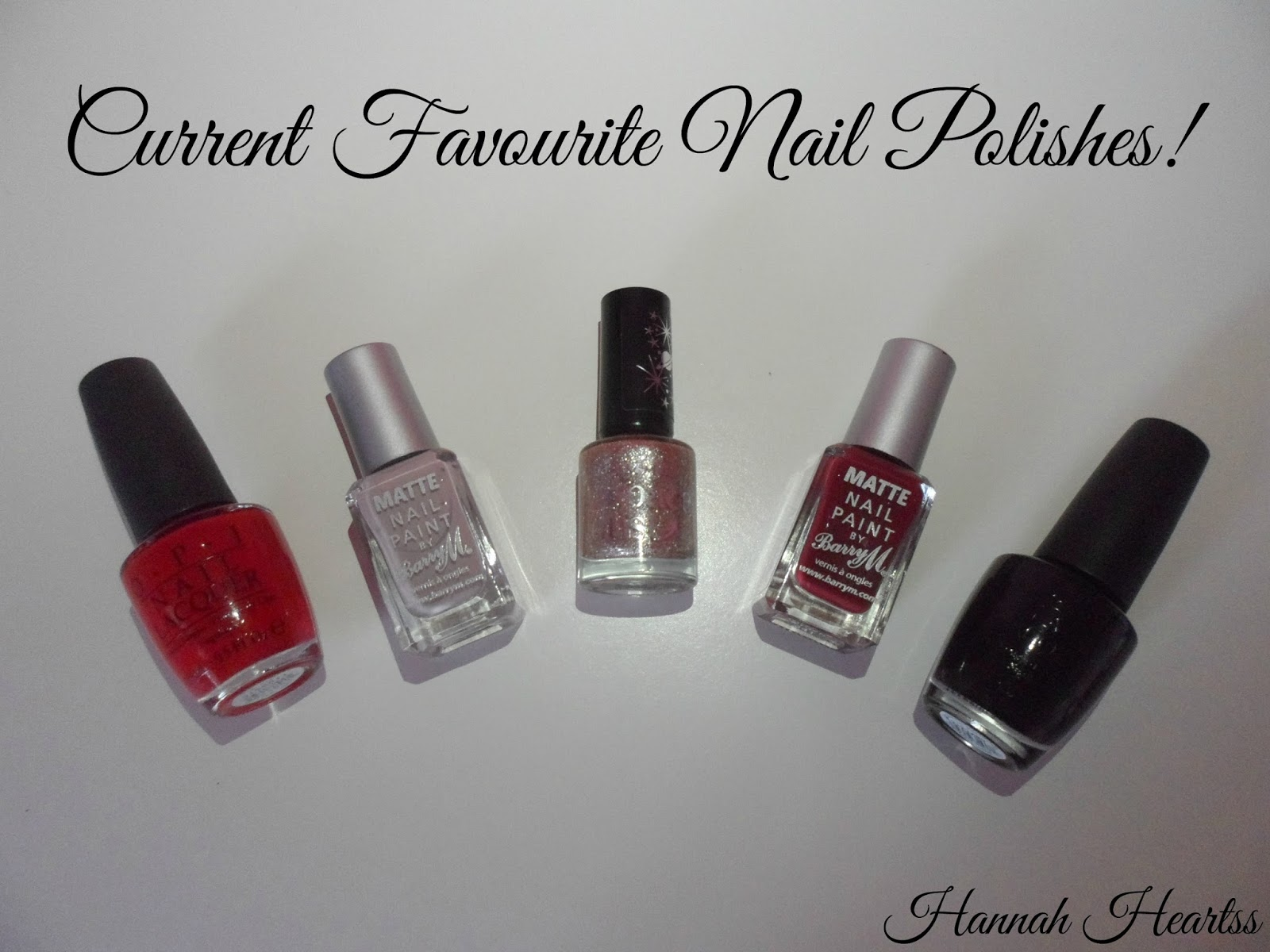 Top Five Nail Polishes