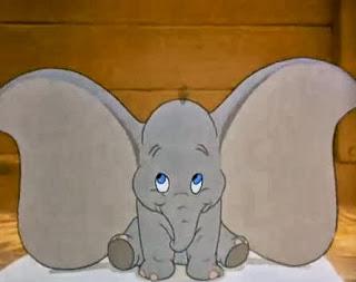 bayi anak gajah dumbo