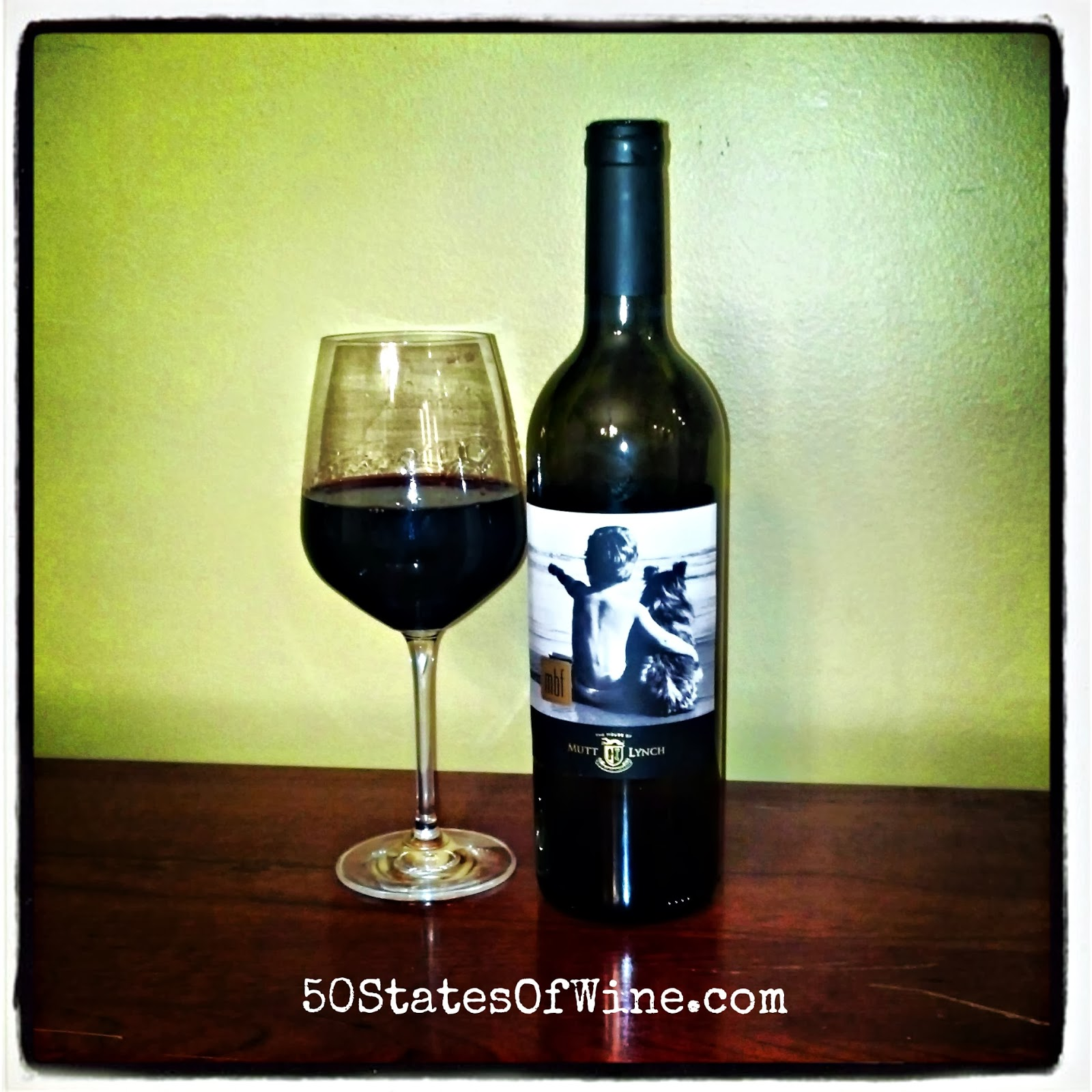 Mutt Lynch mbf Petite Sirah, Perotti Vineyard Dry Creek Valley—Sonoma County 2009