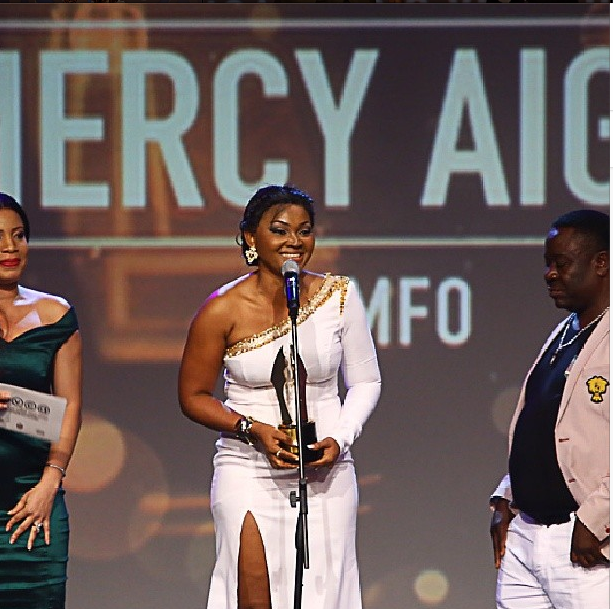 Mercy Aigbe Wins AMVC Award for Best Indigenous Yoruba Movie