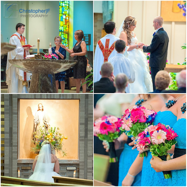 Chicago St. Barnabas Wedding Ceremony