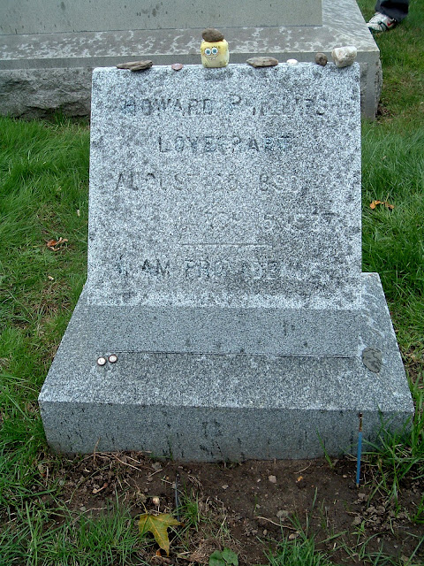 hp lovecraft grave