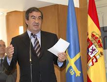 Cascos ,Presidente de Asturias