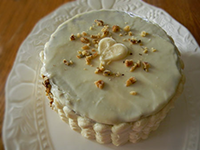 Carrot Cake with Modern Frosting