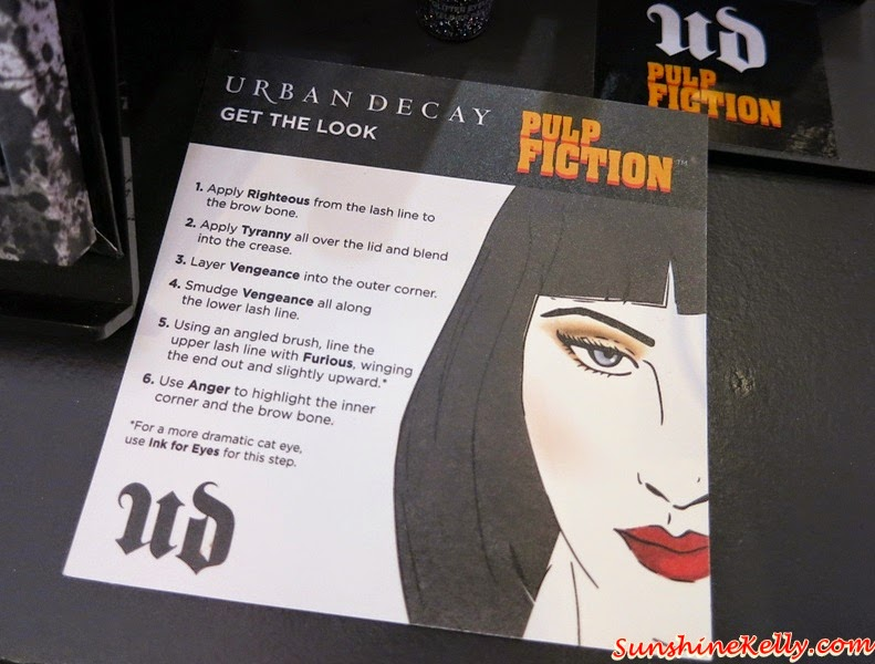 Urban Decay Fall 2014 Collection, Urban Decay Pulp Fiction Arsenal, Urban Decay Perversion Mascara, Urban Decay, Fall 2014 Makeup Trend, Makeup