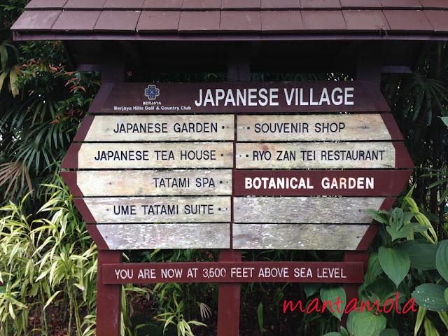 Bukit Tinggi, Botanical Garden