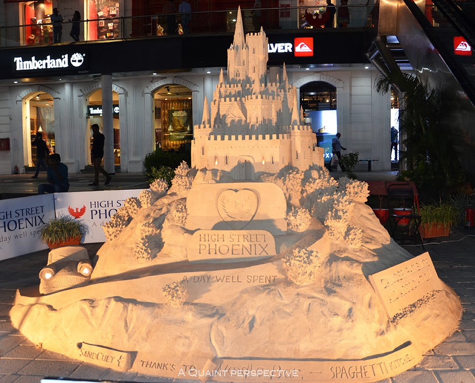 Sand castle by Simon Smith at Phoenix High Street