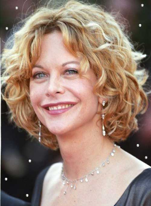 Famous Short Curly Haircuts For Round Faces Best Haircuts