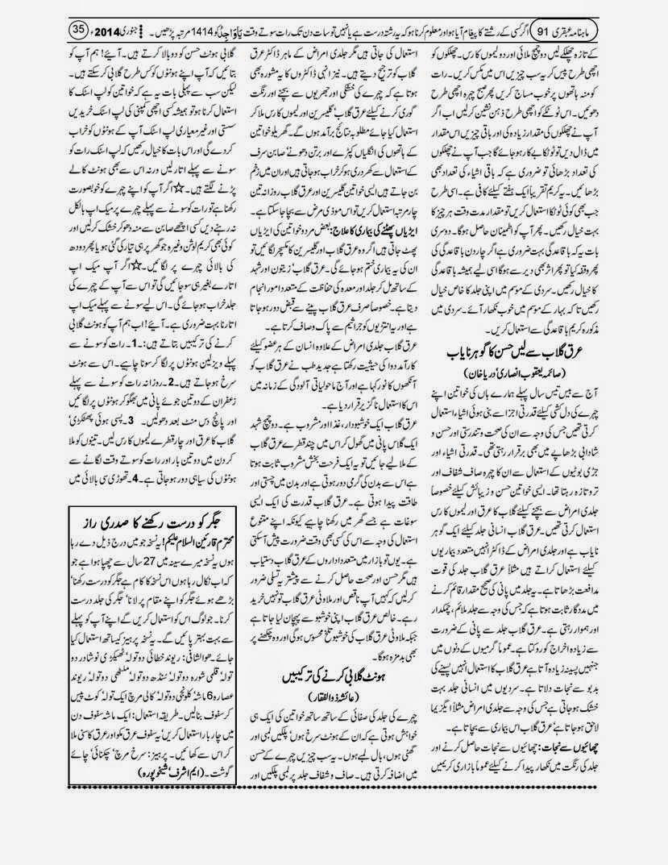 page 35 ubqari january 2014