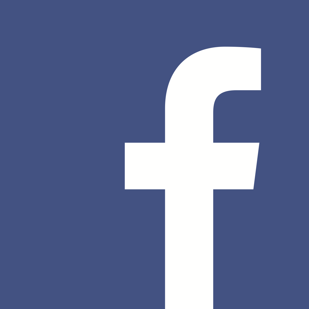 Image result for white facebook logo