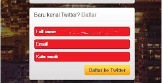 Cara Membuat Twitter Dengan Mudah Dan Cepat