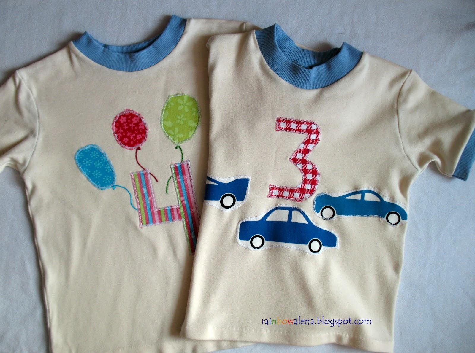 Детская футболка из хлопка своими руками 68