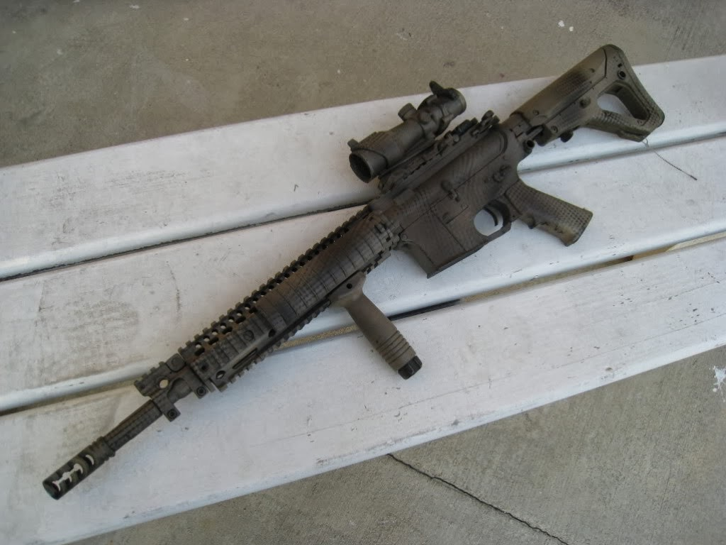 m16 gun wallpaper desktop - photo #12